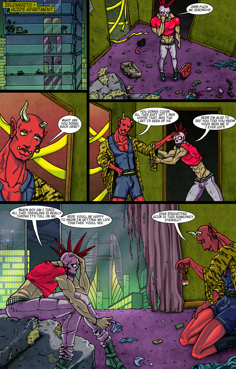 Space Ronin D Issue 02 Page 16